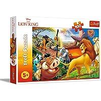 Trefl- Die Abenteuer Von Simba, Disney König der Löwen Puzzle, 16359, 100 pièces, pour Les Enfants à partir de 5 Ans