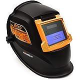 Homdum 90 x 35 mm Auto Darkening Welding helmet Ingco automatic solar cell powered safety Hood ABS Plastic Welder Mask Indust