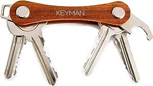 KEYMAN Organisateur de clés en Bois | Porte-clés avec Coffret Cadeau élégant | Key Organizer étui en Bois