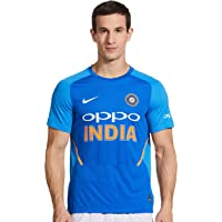 NIKE Official 2019 Team India One Day/ODI Cricket Stadium T-Shirt - Mens