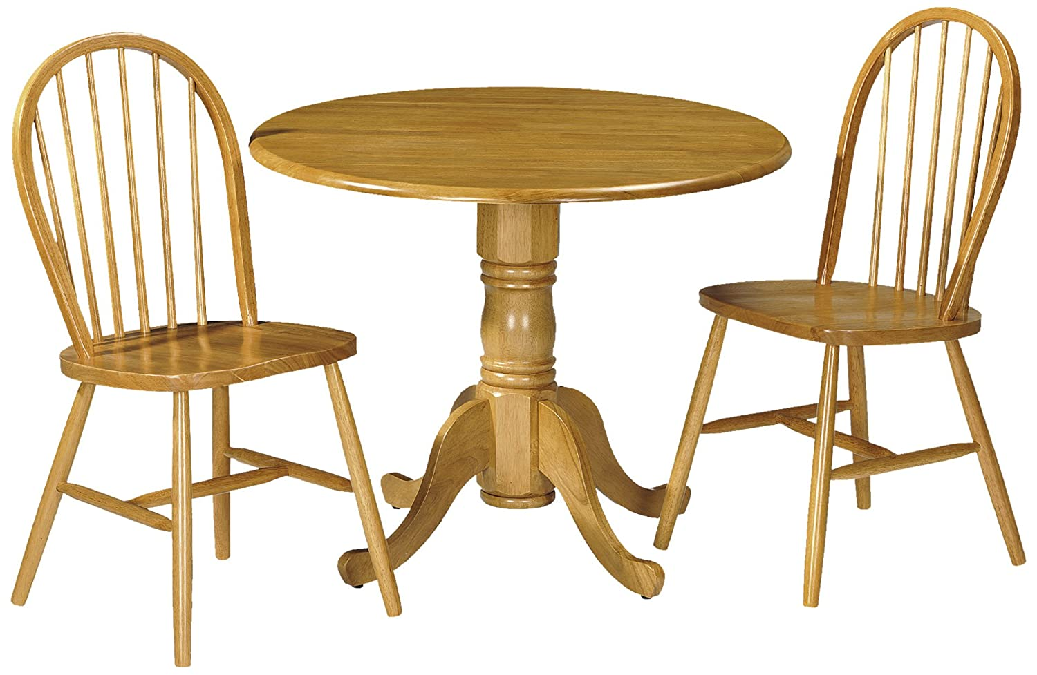 julian bowen dundee dropleaf table set with 2 windsor dining chairs honey pine finish amazoncouk kitchen u0026 home