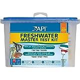 Api Test de Qualité D'eau pour Aquariophilie Freshwater Master Test Kit 7 Flacons de 7 Ml