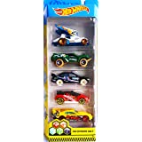 Mattel Hot Wheels 2019 1:64 Scale Extreme Race, Pack of 5, Multicolor