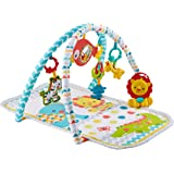 Fisher-Price Original Colourful Carnival 3-in-1 Musical Activity Gym, Colourful Playmat & Floor Gym for Lay and Play for…