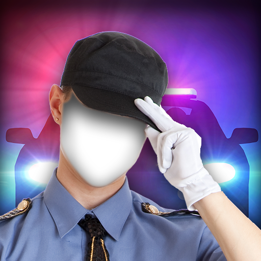 Polizei-Foto-Montage