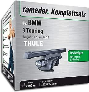 Rameder Komplettsatz Dachträger Squarebar Für Bmw 3 Touring 115961 05430 97 Auto
