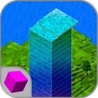 Cube Stack Tower 3D