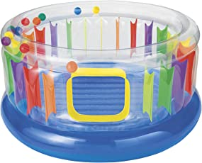 Intex Inflatable Jump O Lene Transparent Ring Bouncer By Intex