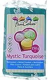 FunCakes Fondant -Mystic Turquoise, 1 Pack (250 g)