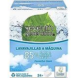 Seventh Generation Pastillas Ecológicas Lavavajillas Free & Clear Todo en Uno 24 pastillas