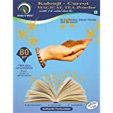 Brown & White Kalonji-Carrot Magical Tea-Powder for Skin Glow, Weight Loss, Digestion, Wellness (80.00)