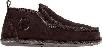 Pantofole da uomo Vanuba pantofole in pelle di pecora  pantofole chiuse, cuoio naturale, fatte a mano  Dimensione40-45, 3 colori