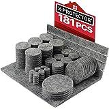 Meubilair Pads Vloerbeschermers X-PROTECTOR 181 PCS - Vilten Pads voor Stoelpoten - Premium Meubilair Vilten Pads voor Meubel