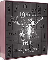 Lakrids Knud | Lakritz Adventskalender XXL 860 g Black Edition
