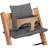 LaLoona Hochstuhl Kissen/Sitzkissen für Stokke Tripp Trapp - 2-teilige Hochstuhlauflage/Sitzverkleinerer für…