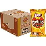 Lay's Pomtips Chips, Doos 12 stuks x 125 g