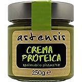 ASTENSIS Crema Proteica Spalmabile Artigianale 250 Grammi - Proteine Per Sportivi - Senza Zucchero, Senza Glutine e Senza Oli