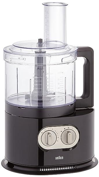 braun identitycollection fp 5160 robot da cucina, colore nero ... - Robot Cucina Braun