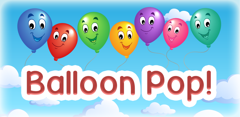 kids balloon pop game fun learning game for preschool