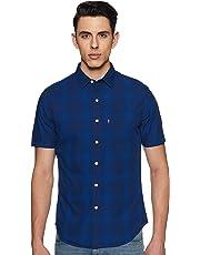 Levi's Men's Checkered Regular fit Casual Shirt