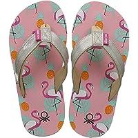 United Colors of Benetton Girl's Flip-Flops