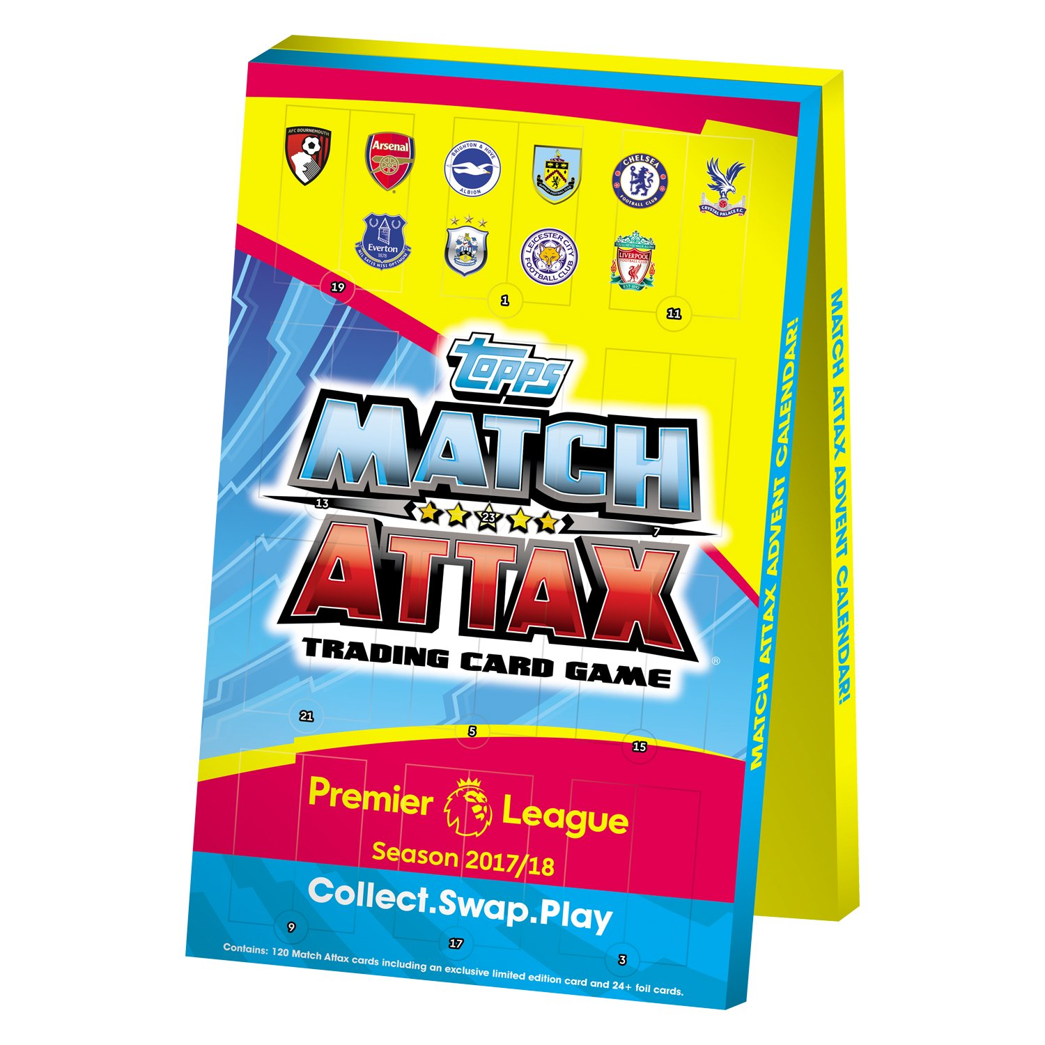 Epl Match Attax 2017 18 Advent Calendar Football Trading