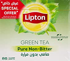 Lipton Green Tea Pure Non Bitter, 88 Tea Bags