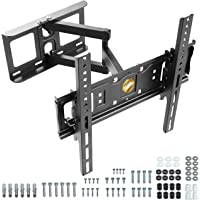 "RICOO S6144 Support Murale TV Orientable Inclinable Universel 32-55"" (81-140cm) Fixation Mural Télévision LED/LCD…"