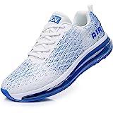 Azooken Scarpe Sportive Uomo Donna Scarpe da Corsa Cuscino Ad Aria Sneaker Tempo Libero Fitness Sneaker da Esterno Traspirant