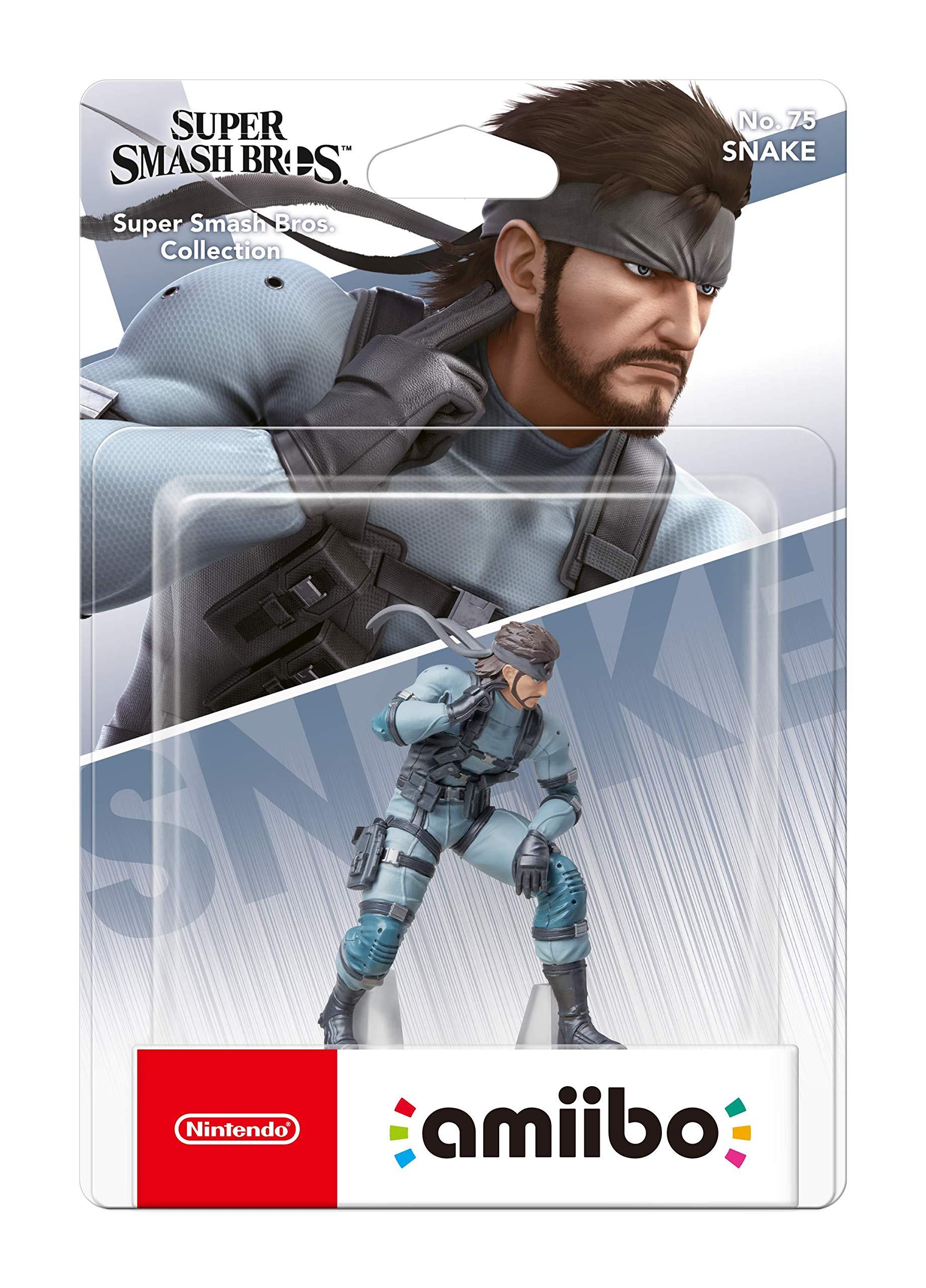 Amiibo – Solid Snake [Colección Super Smash Bros]