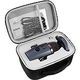 Bolsillos para micrófonos Blue Yeti Nano USB micrófono para grabación y streaming en PC y Mac, trípode ajustable, Plug and Pl