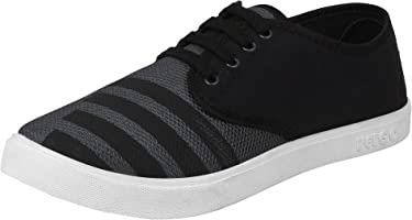 Bersache Men Black Casual Sneakers Shoe