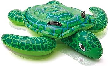 Intex 57524 - Cavalcabile Tartaruga, Verde, 150 x 127 cm