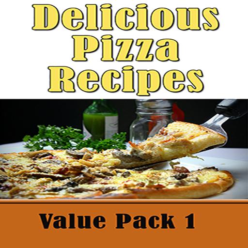 Pizza Recipes: 50 Delicious Homemade Pizza Crust Recipe Book Value Pack 1