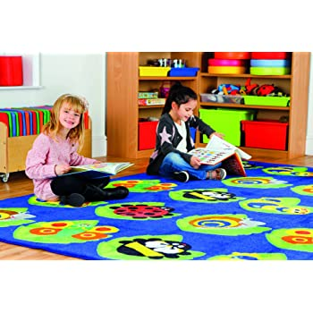 Quality Children's Nursery NATURE BUG Placement Mat- LARGE SQUARE (MAT1038)
