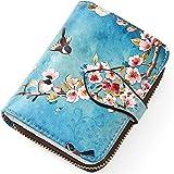 APHISON Kleine Damen Geldbörsen PU Leder Damen Geldbeutel Kreditkartenhalter RFID Blocking Zipper Geldbeutel Cartoon-Muster K