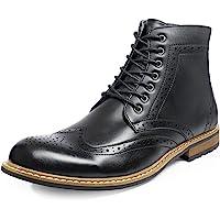 Bruno Marc Men's Brogue Dress Boots Formal Derby Ankle Boots BERGEN-03