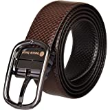 Bacca Bucci Men's Leather Reversible Belt