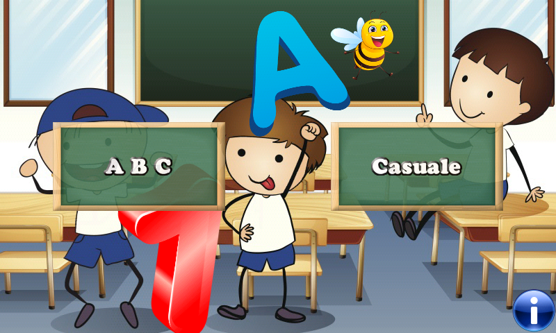 Italienisch Alphabet für Kleinkinder und Kinder: Lernen