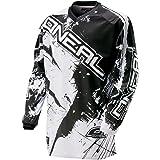 O'Neal Element MX Jersey Shocker Schwarz Weiß Motocross Downhill Enduro Cross Motorrad MTB, 0024S-30