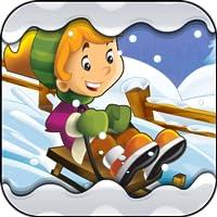 Abenteuer im Winter - Zahlen und Buchstaben lernen für Kinder