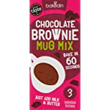 Bakedin Chocolate Mug Brownie Mix, Top Quality Ingredients, Belgian Chocolate, Award Winning Flour, British Sugar, All…