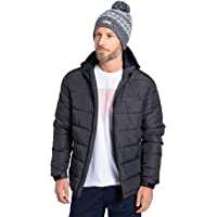 Mountain Warehouse Stalagmite Padded Jacket - Water Resistant, Fleece Lined, Adjustable Hem, Cuffs & Hood, Microfibre…