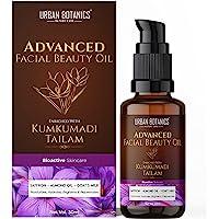 UrbanBotanics Kumkumadi Tailam for Glowing Skin - Kumkumadi Oil for Face - Brightening, Whitening, Ageing, Wrinkles…