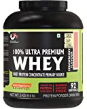 Advance MuscleMass Whey Protein Concentrate With Enzyme Blend| 24.7 g protein | Lab tested | Raw Whey from USA…