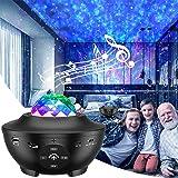 LED Sternenhimmel Projektor, eLinkSmart Sternenprojektor Musik Spielen über Bluetooth, Wasserwellen Sternenlicht für Raumdeko