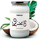 Premium Natives Bio Kokosöl von Steinberger | Zum Kochen, Braten und Backen | Für die Haar- und Hautpflege | 500 ml Kaltgepresst | Naturkosmetik