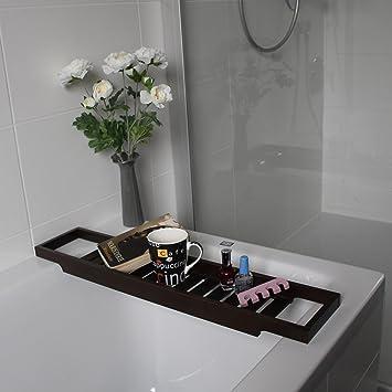 Ikea ablage für die badewanne badewannentablett in 2 farben ...