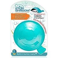 StopShroom Universal Stopper Plug for Bathtub Bathroom, and Kitchen Sink Drains Silicone Blue Standard