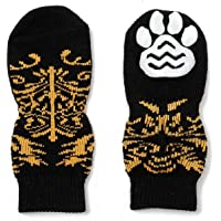 Pet Heroic Indoor Anti-Rutsch Socken für Hunde und Katzen - 6 Größen von S bis 3XL für kleine-riesige Tiere…